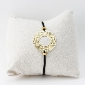 bracelet cordon bijoux doré