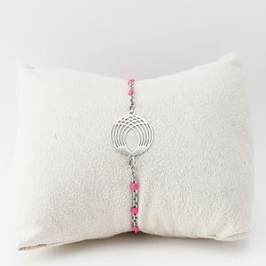bracelet fantaisie Skyros argenté