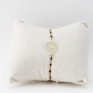 bijoux femme bracelet Tilos doré